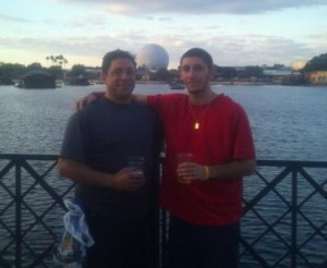Epcot with Dad