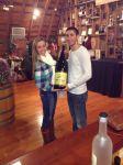 big wine bottle